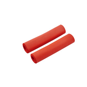 Red Cycling Products Silicon Grip Bike Grips red